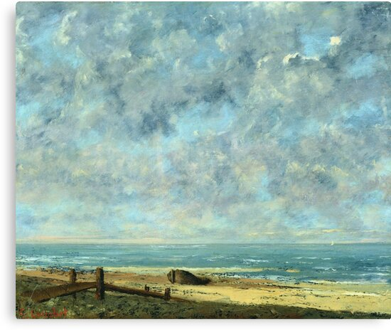 Gustave Courbet - The Sea by artcenter