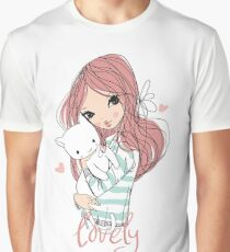 Lovely Graphic T-Shirt