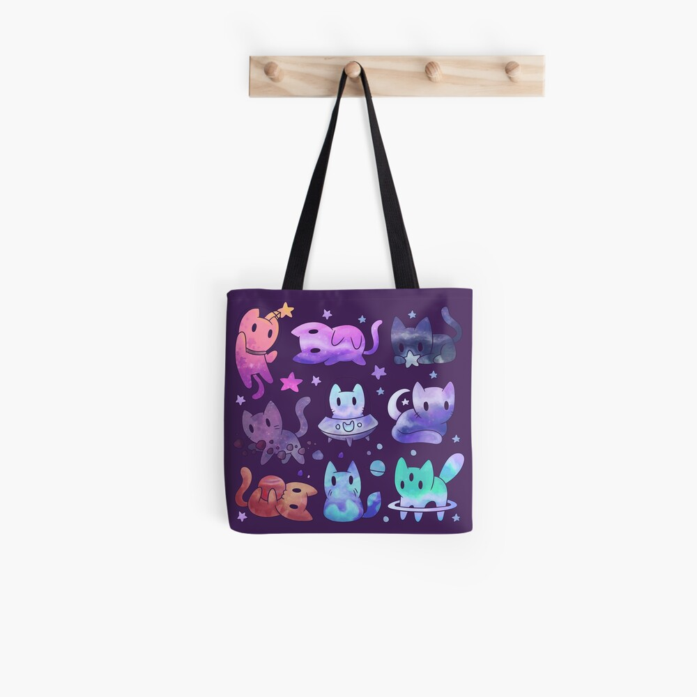 Space Cats Tote Bag