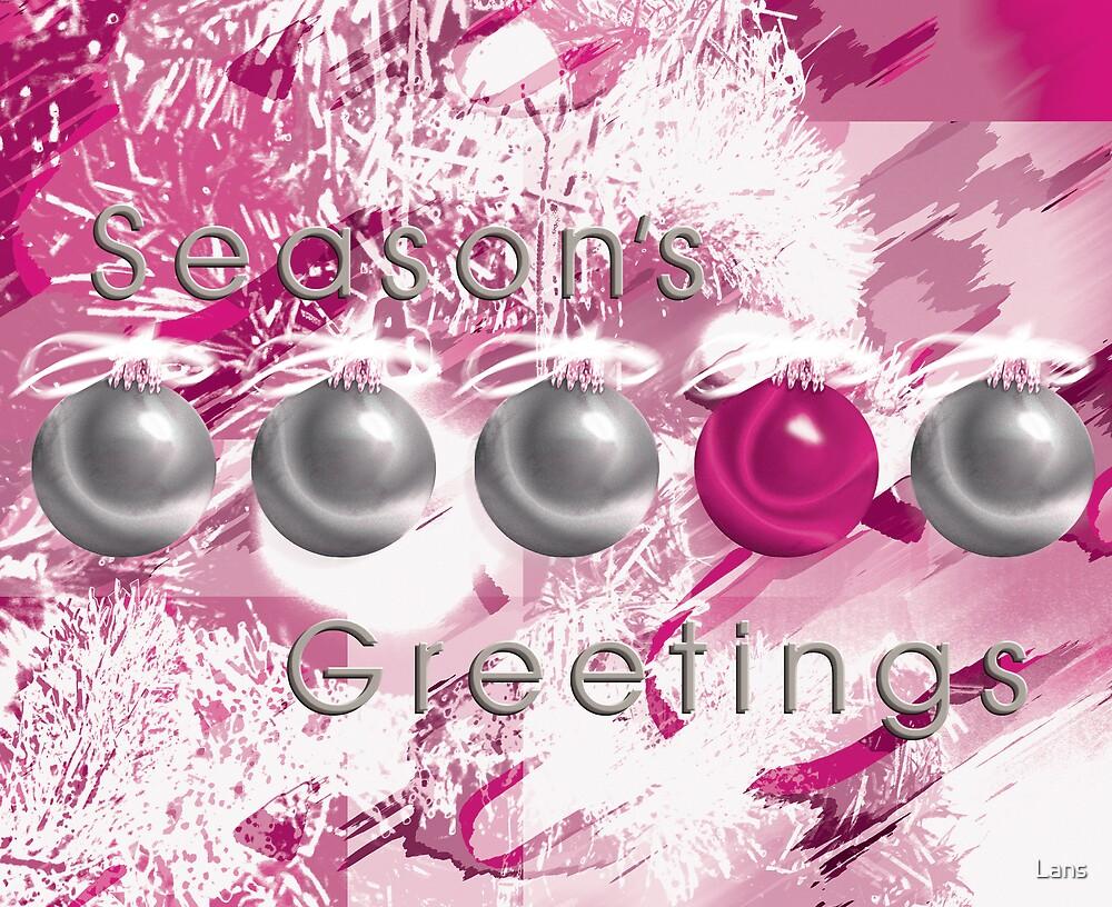 Season's Greetings by Lans