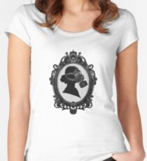 ornament and crime Women's Fitted Scoop T-Shirt