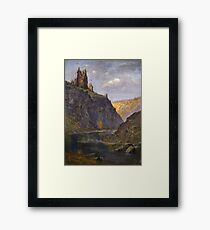Gustave Dore - Castle On The Rhone Framed Print