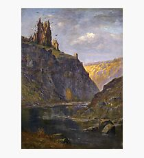 Gustave Dore - Castle On The Rhone Photographic Print