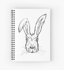 Angry Hare Spiral Notebook