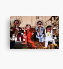 You muppets! Canvas Print
