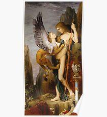 Gustave Moreau - Ödipus und die Sphinx Poster