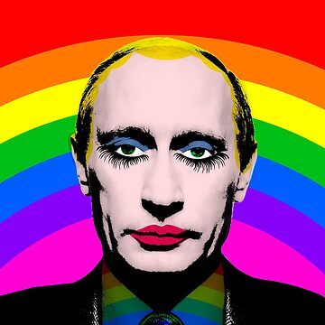 Putin as Gay Clown by charlizeart