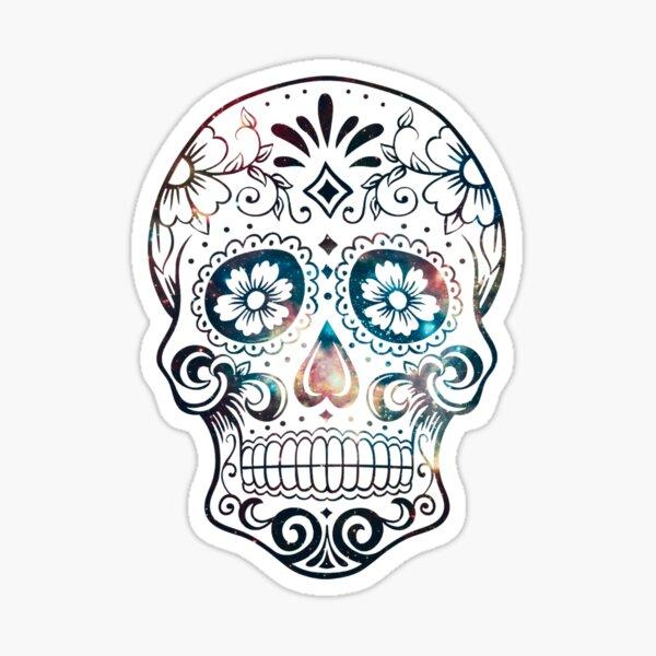 Sugar Skull v1 Sticker