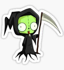 Invader Zim - Gir Spooky Sticker