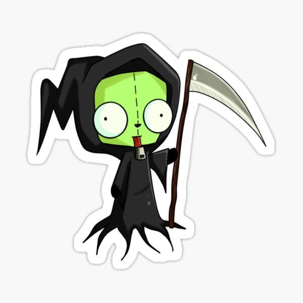 Invader Zim - Gir Spooky Pegatina