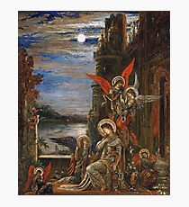 Gustave Moreau - Saint Cecilia. (The Angels Announcing Her Coming Martyrdom) Photographic Print