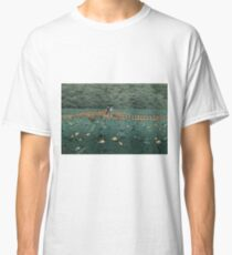 Japanese Print - Hasui Kawase - Women - Lillies - Shiba Benten Pond Classic T-Shirt