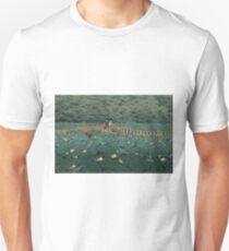 Japanese Print - Hasui Kawase - Women - Lillies - Shiba Benten Pond Unisex T-Shirt