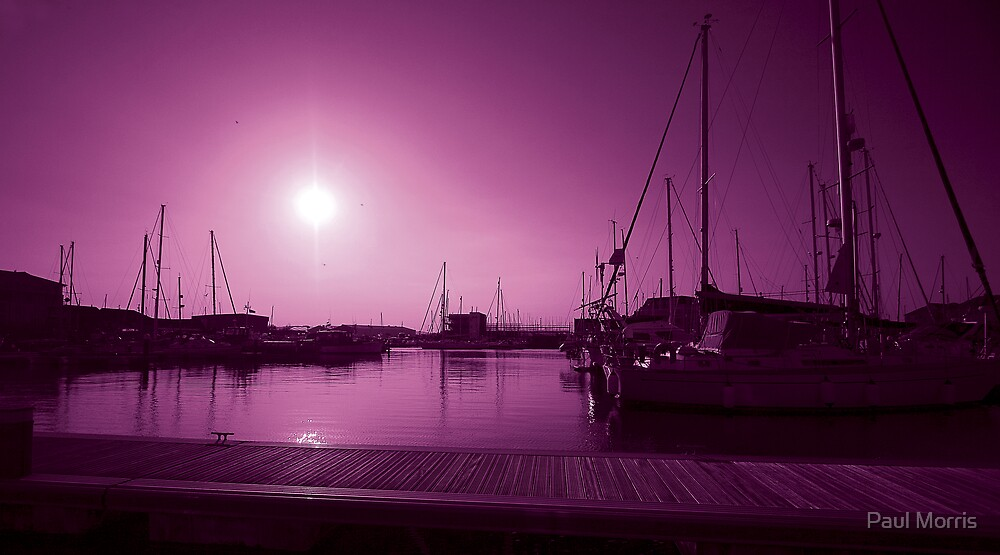 Pretty in Pink -  Sovereign Harbour -  Eastbourne by Paul Morris