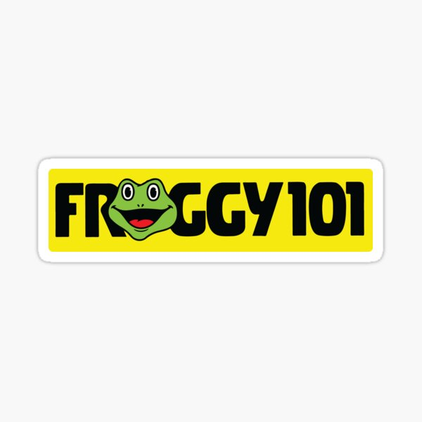 The Office Froggy 101 Sticker