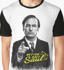 Better Call Saul B&W Graphic T-Shirt