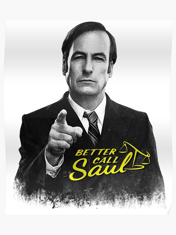 Better Call Saul Bw Poster