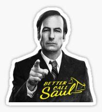 Better Call Saul B&W Sticker