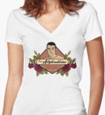 Artphrodisiac Women's Fitted V-Neck T-Shirt