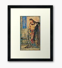 Gustave Moreau - The Toilette 1885 Framed Print