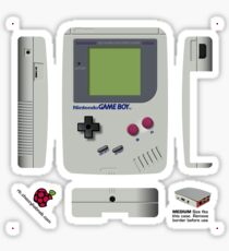Nintendo Gameboy Skin for the Official case [Get the MEDIUM size] Sticker