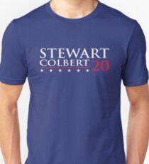 Stewart Colbert for President T-Shirt