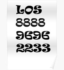Números Poster