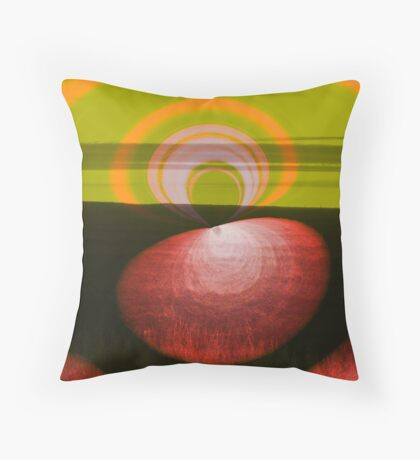 Autumn eye Throw Pillow