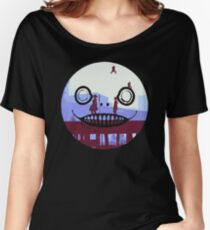 Nier Automata 2B and 9S Emil Face Women's Relaxed Fit T-Shirt