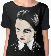 Wednesday Addams Chiffon Top