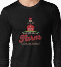 Bee Meadow Farm Logo for DARK SHIRTS Long Sleeve T-Shirt