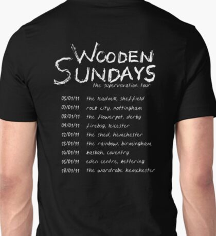 Wooden Sundays Tour T-Shirt T-Shirt