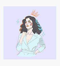 Marina Diamandis Photographic Print