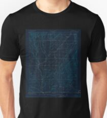 USGS TOPO Map Colorado CO Red Mesa 402599 1913 62500 Inverted T-Shirt