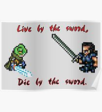 Live by the Sword Poster