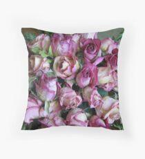 Old Pink Throw Pillow