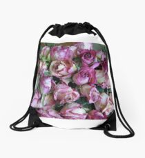 Old Pink Drawstring Bag