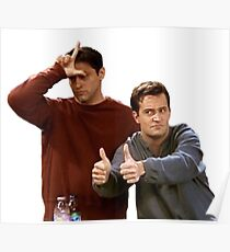 Joey & Chandler - FRIENDS Poster