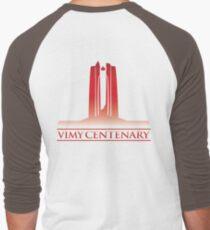 Vimy Centenary Flag Transition Men's Baseball ¾ T-Shirt