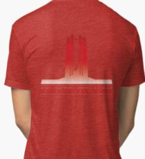 Vimy Centenary Flag Transition Tri-blend T-Shirt