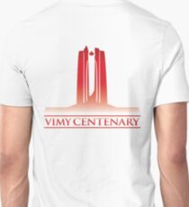 Vimy Centenary Flag Transition Unisex T-Shirt
