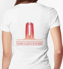 Vimy Centenary Flag Transition T-Shirt