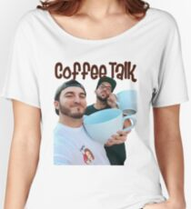 Coffee Talk - Zane and Heath  Women's Relaxed Fit T-Shirt