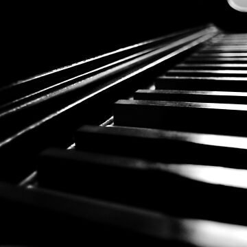 Piano Keys by LaurieMinor