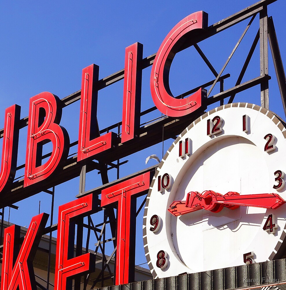 Pike Place Market by Karen Fahey