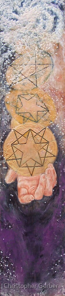 Ace of Pentacles by Christopher Gerber