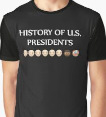 History of U.S. presidents shirt Graphic T-Shirt