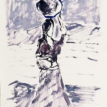 Village Girl by Rampatil