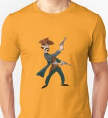 Cartoon Cowboy Unisex T-Shirt