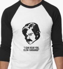 Toast of London 'I can hear you Clem Fandango' Baseball ¾ Sleeve T-Shirt